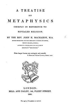A Treatise on Metaphysics PDF
