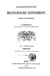 Streffleurs militärische Zeitschrift: Band 4