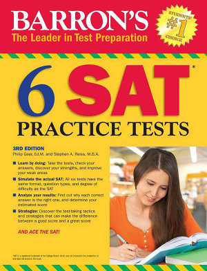 6 SAT Practice Tests