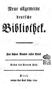 Neue allgemeine deutsche Bibliothek: Band 8