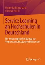 Service Learning an Hochschulen in Deutschland PDF
