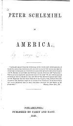 Peter Schlemihl in America ...