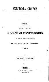 De variis difficilibus locis ss. pp. Dionysii et Gregorii ad Thomam V.S.