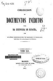 Colección de documentos inéditos para la historia de España: Volumen 45