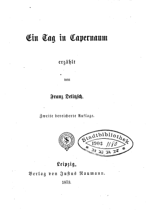 Ein Tag in Capernaum PDF