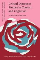 Critical Discourse Studies in Context and Cognition PDF