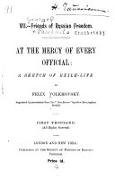 Download At the Mercy of Every Official Book
