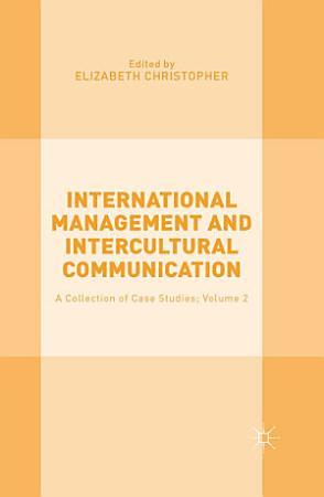 International Management and Intercultural Communication PDF
