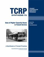 Uses of Higher Capacity Buses in Transit Service PDF