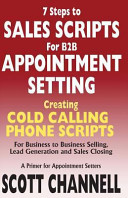 7 Steps to Sales Scripts for B2B Appointment Setting Book