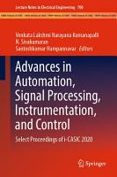 Advances in Automation  Signal Processing  Instrumentation  and Control PDF