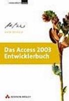 Das Access 2003 Entwicklerbuch PDF