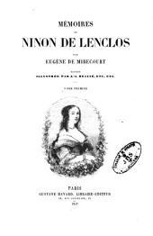 Mémoires de Ninon de Lenclos: Volumes1à2