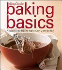 Betty Crocker Baking Basics Book