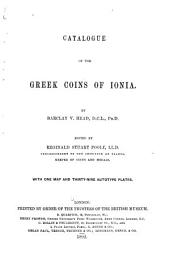 A Catalogue of the Greek Coins in the British Museum: Volume 1