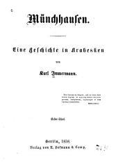 Münchhausen: eine Geschichte in Arabesken, Bände 1-2