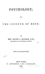 Psychology  Or  The Science of Mind PDF