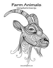 Farm Animals Coloring Book for Grown-Ups 1
