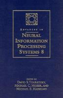 Advances in Neural Information Processing Systems 8 PDF