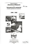 Download Annuaire de la Recherche Book