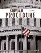 Criminal Procedure: Edition 2