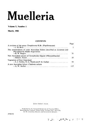 Muelleria