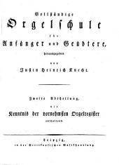 Vollständige Orgelschule für Anfänger und Geübtere: Band 2