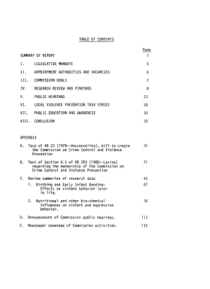 Annual Report to the California Legislature