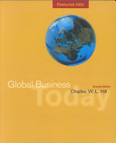 Global Business Today  Postscript 2002 Book