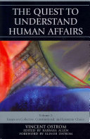 The Quest to Understand Human Affairs