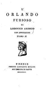 L'Orlando Furioso: Volume 2