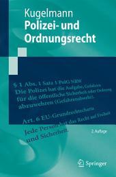 Polizei- und Ordnungsrecht: Ausgabe 2