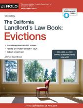 The California Landlord's Law Book: Evictions: Evictions