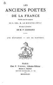 Aye d'Avignon: chanson de geste, Volume6