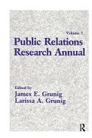 Public Relations Research Annual PDF