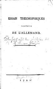 Essais théosophiques