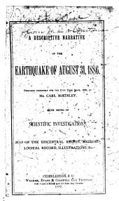 The Charleston Earthquake, August 31, 1886