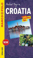 Croatia Marco Polo Spiral Guide