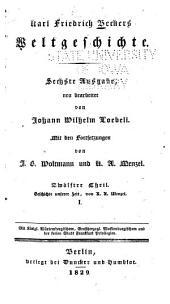 Karl Friedrich Beckers weltgeschichte: -14. th. Geschichte unserer zeit, von K.A. Menzel. 1829