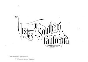 Vistas in Southern California PDF
