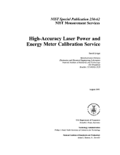 High-Accuracy Laser Power and Energy Meter Calibration Service