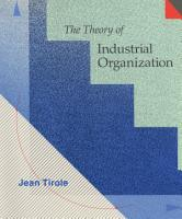 The Theory of Industrial Organization PDF
