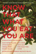 Download Know That What You Eat You Are Book