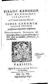 Codex canonum ecclesiae universae