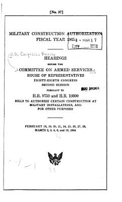 Military Construction Authorization  Fiscal Year 1965