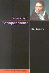 Philosophy of Schopenhauer