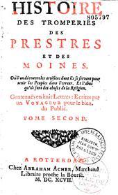 Histoire des tromperies des prestres et des moines de l'Eglise Romaine
