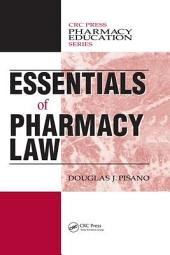 Essentials of Pharmacy Law