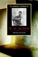 The Cambridge Companion to W  H  Auden PDF