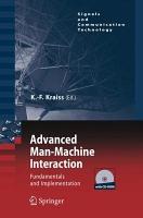 Advanced Man Machine Interaction PDF
